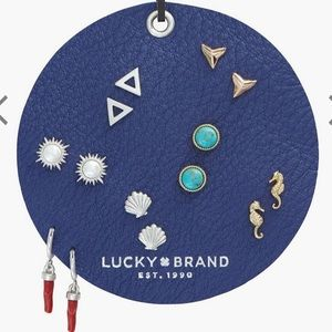 NEW 7 pairs of mixed earrings Lucky Brand